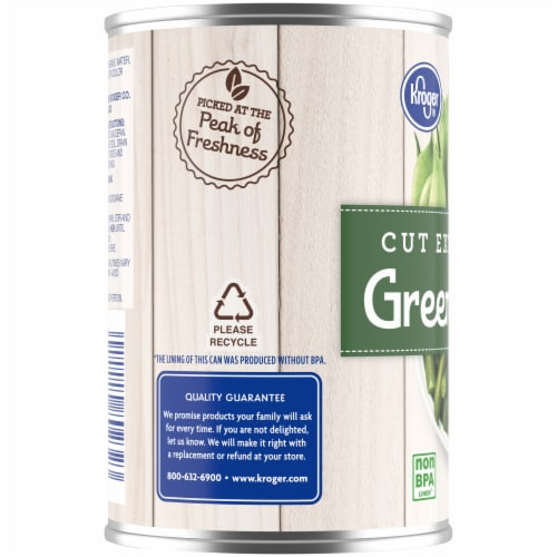 Kroger® Cut Extra Green Beans Perspective: left