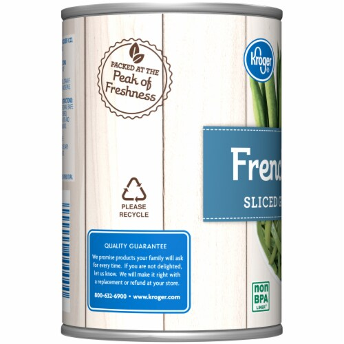 Kroger® Canned French Style Sliced Green Beans Perspective: left