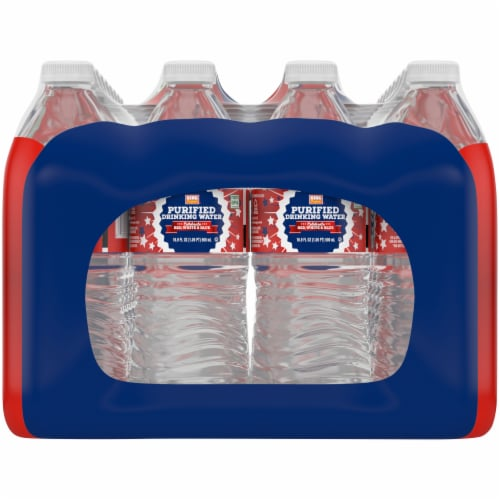 King Soopers® Purified Drinking Water Perspective: left
