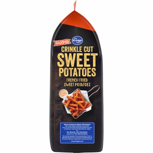 Kroger® Crinkle Cut French Sweet Potato Fries Perspective: left