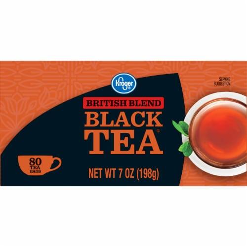 Kroger® British Blend Black Tea Bags Perspective: left