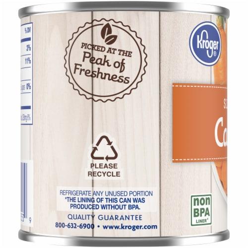 Kroger® No Salt Added Sliced Carrots Perspective: left