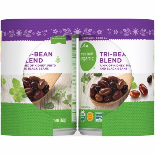 Simple Truth Organic® Tri-Bean Blend Perspective: left