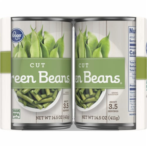Kroger® Cut Green Beans Perspective: left