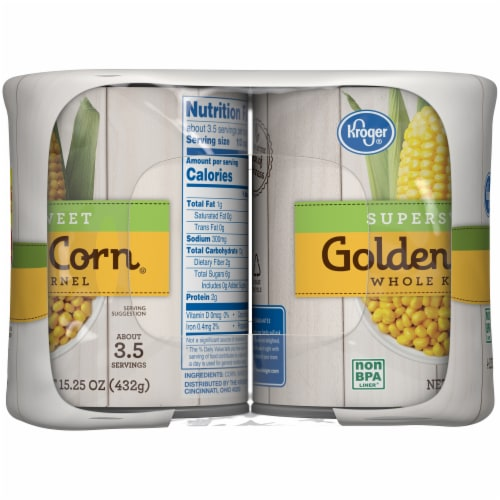 Kroger® Supersweet Whole Kernel Golden Corn Perspective: left