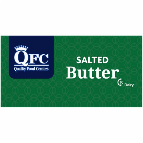 QFC Salted Butter Sticks Perspective: left