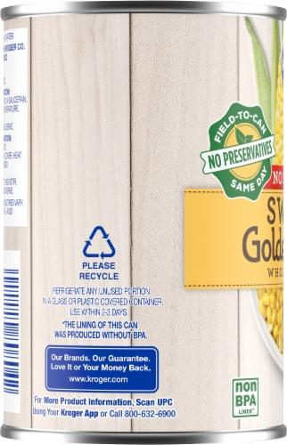 Kroger® No Salt Added Sweet Golden Whole Kernel Corn Perspective: left