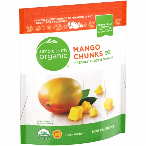 Simple Truth Organic™ Frozen Mango Chunks Perspective: left