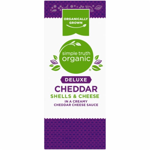 Simple Truth Organic® Deluxe Cheddar Shells & Cheese Perspective: left