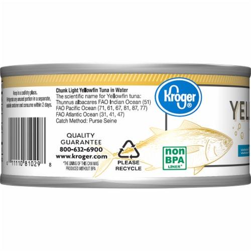 Kroger® Ralphs Chunk Light Yellowfin Tuna Perspective: left