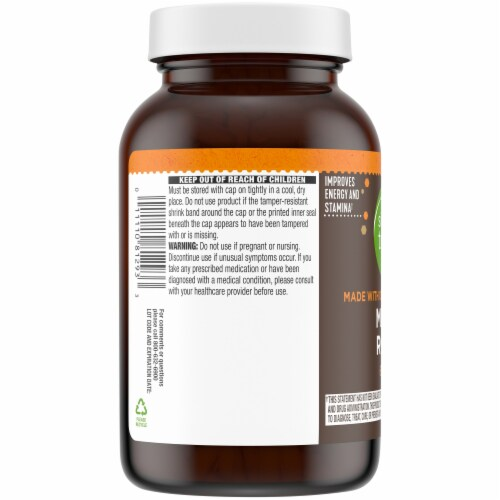 Simple Truth® Maca Root Capsules 615mg Perspective: left