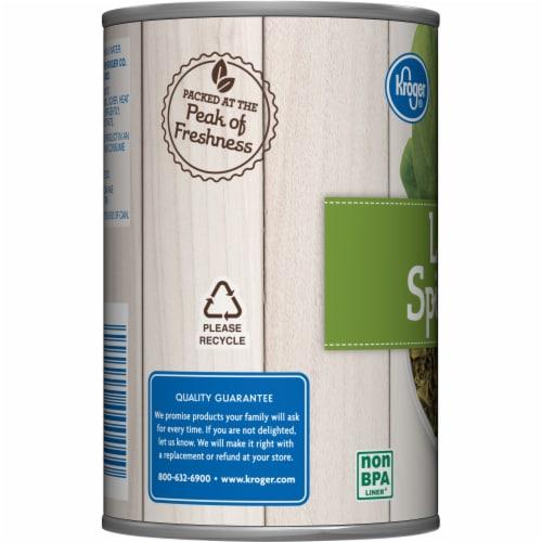 Kroger® No Salt Added Leaf Spinach Perspective: left