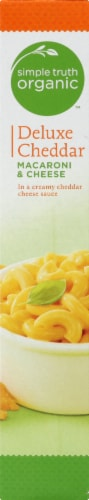 Simple Truth Organic® Deluxe Cheddar Macaroni & Cheese Perspective: left