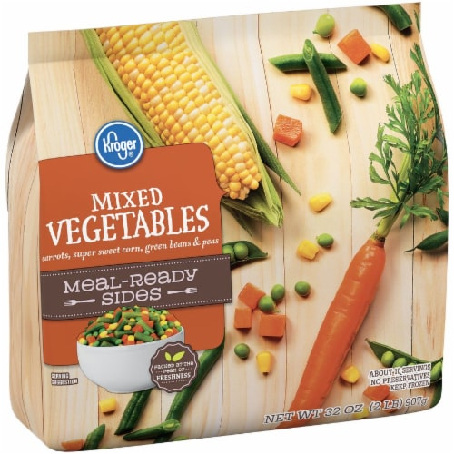 Kroger® Meal-Ready Sides Mixed Vegetables Perspective: left