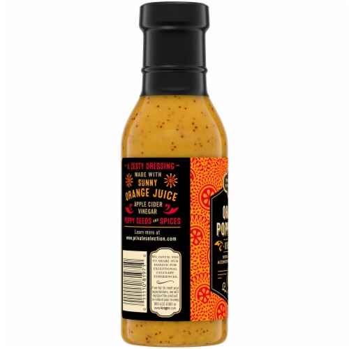 Private Selection® Orange Poppy Seed Dressing Perspective: left