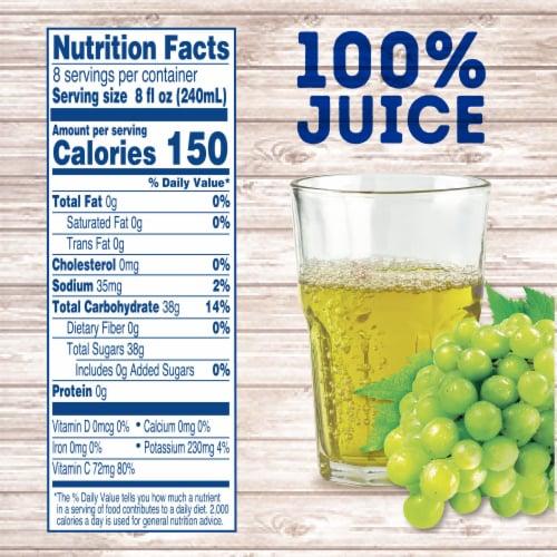 Kroger® 100% White Grape Juice Perspective: left