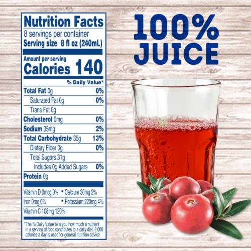 Kroger® Traditional Cranberry Juice Perspective: left