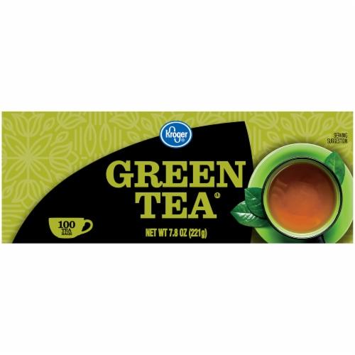 Kroger® Green Tea Bags Perspective: left