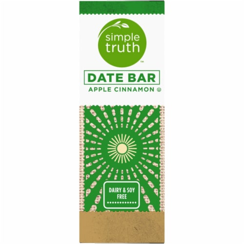 Simple Truth™ Apple Cinnamon Chewy Date Bars 5 Count Perspective: left
