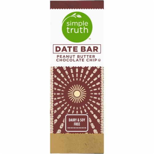 Simple Truth™ Peanut Butter Chocolate Chip Date Bars Perspective: left