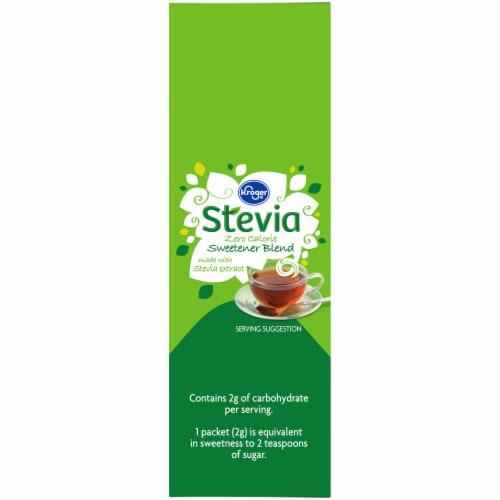 Kroger® Stevia Zero Calorie Sweetener Packets Perspective: left