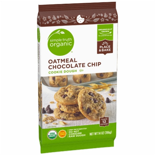 Simple Truth Organic™ Oatmeal Chocolate Chip Cookie Dough Perspective: left
