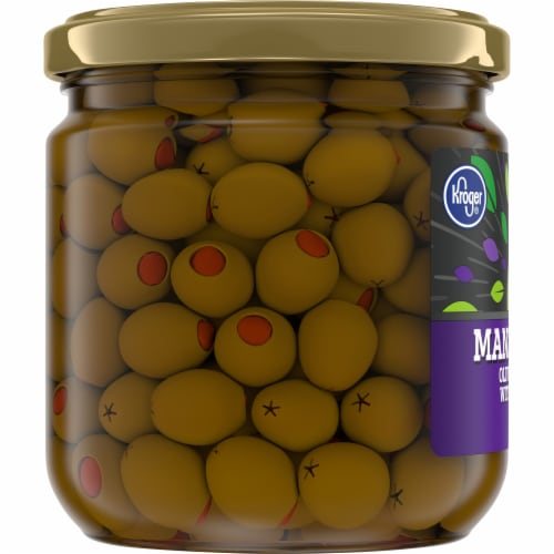 Kroger® Manzanilla Olives Stuffed with Pimiento Perspective: left