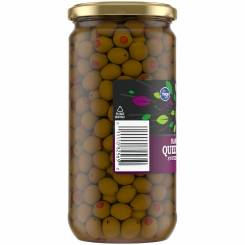 Kroger® Queen Olives Stuffed with Pimiento Perspective: left