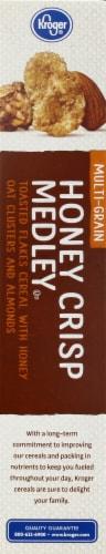 Kroger® Honey Crisp Medley Cereal with Honey Oat Clusters & Almonds Perspective: left