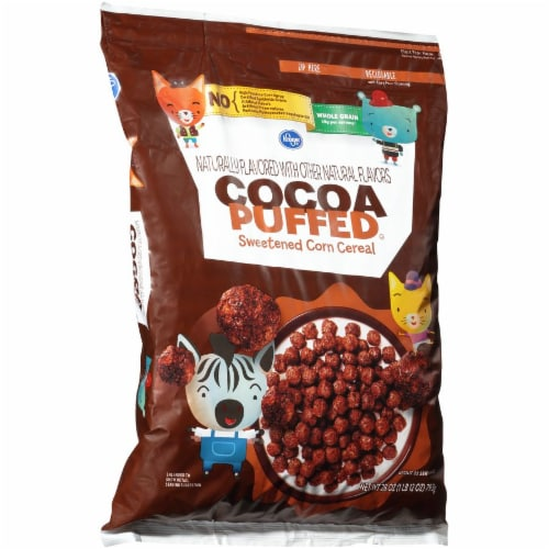 Kroger® Cocoa Puffed Cereal Perspective: left