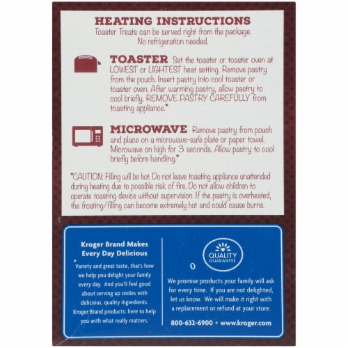 Kroger® Chocolate Fudge Frosted Toaster Treats Perspective: left