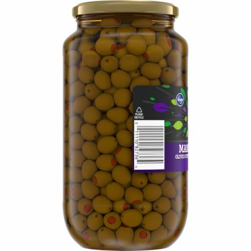 Kroger® Pimiento Stuffed Manzanilla Olives Perspective: left