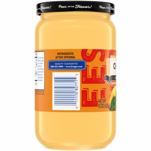 Kroger® Cheddar Cheese Dip Perspective: left