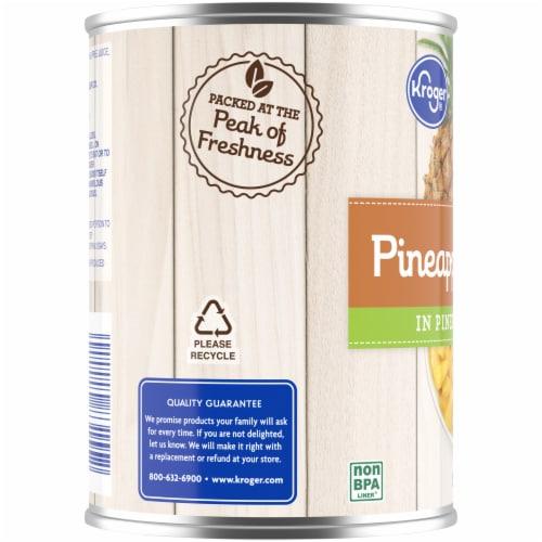Kroger® Pineapple Tidbits in Pineapple Juice Perspective: left