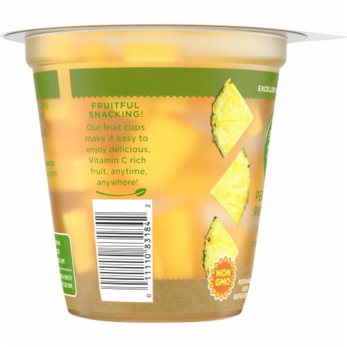 Simple Truth™ Perfectly Pineapple Fruit Cup Perspective: left