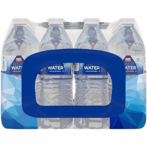 King Soopers™ Purified Drinking Water Perspective: left