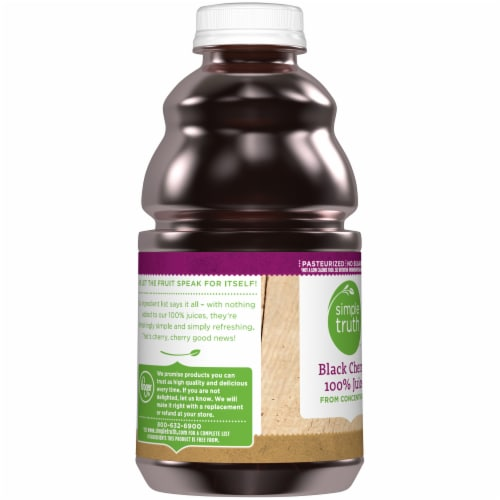 Simple Truth™ 100% Black Cherry Juice Perspective: left