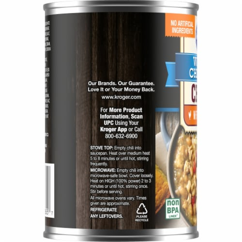 Kroger® White Chicken Chili with Beans Perspective: left
