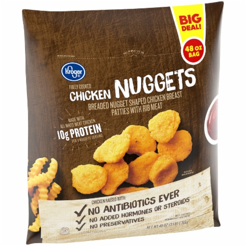 Kroger® Chicken Nuggets Perspective: left