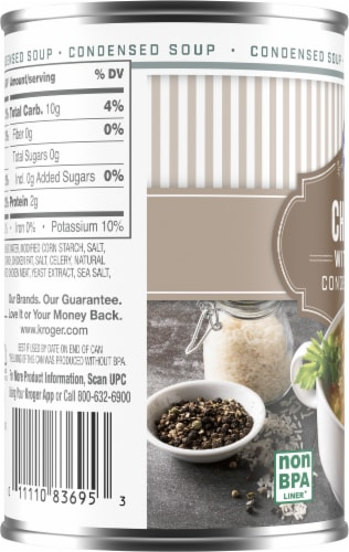 Kroger® Chicken with Rice Condensed Soup Perspective: left