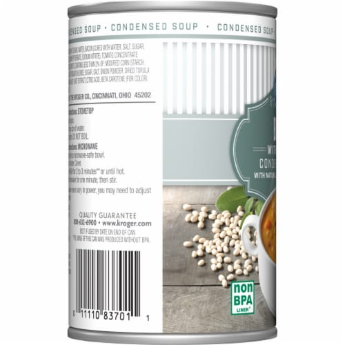 Kroger® Bean with Bacon Condensed Soup Perspective: left