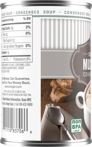 Kroger® Cream of Mushroom Condensed Soup Perspective: left
