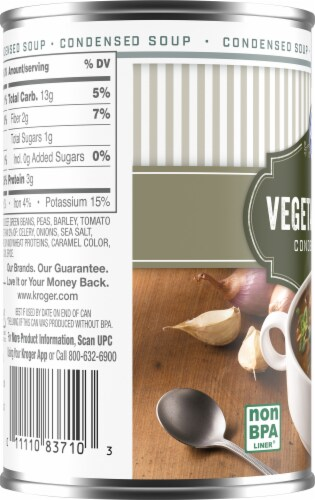 Kroger® Vegetable Beef Condensed Soup Perspective: left