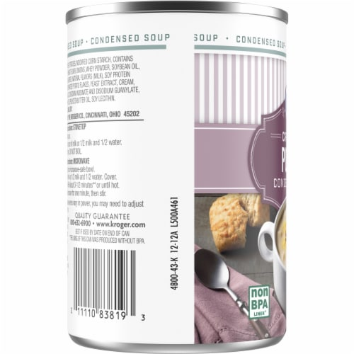 Kroger® Cream of Potato Condensed Soup Perspective: left