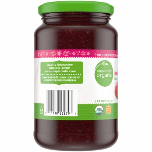 Simple Truth Organic™ Raspberry Fruit Spread Perspective: left