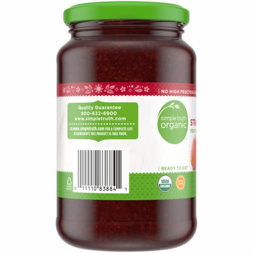 Simple Truth Organic™ Strawberry Fruit Spread Perspective: left