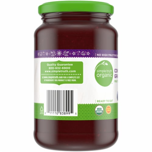 Simple Truth Organic™ Concord Grape Fruit Spread Perspective: left