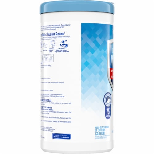 Kroger® Fresh Scent Disinfecting Wipes Perspective: left