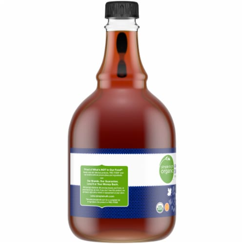 Simple Truth Organic™ Grade A Dark Color Robust Maple Syrup Perspective: left