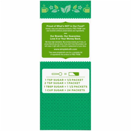 Simple Truth Organic™ Stevia Extract Blend Zero Calorie Sweetener Perspective: left